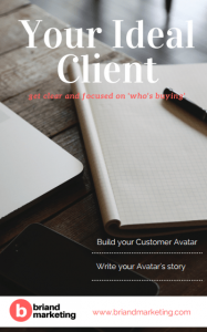 your ideal client - get clear and focused on who's buying